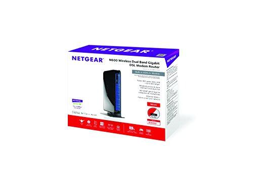 Netgear DGND3700 - IEEE N600 DUAL BAND GIGABIT MODEM NAT Band Band - Speed - Network - x Broadband USB
