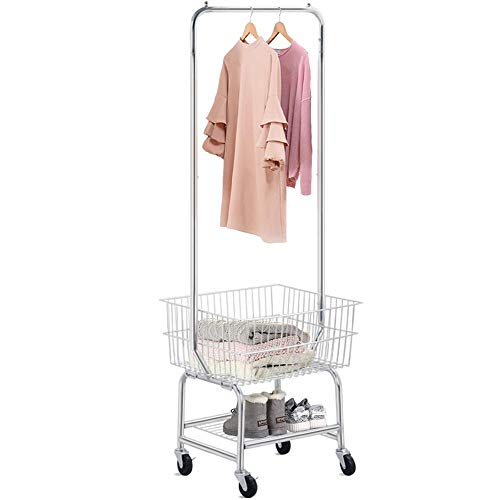 Yaheetech Laundry Cart Commercial Laundry Cart