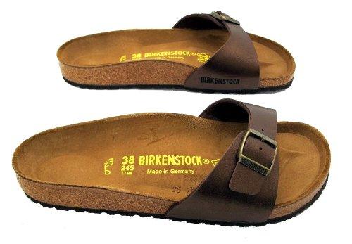 Birkenstock Madrid, Sandali donna Marrone marrone