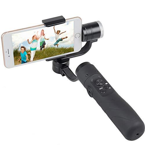 CAOASIS ジンバルスタビライザー、スムーズなハンドヘルドポータブルスマートフォンカメラビデオ3軸スタビライザー 6-8h ランタイム 3.5-6.1インチスマートフォン用 WiFi Bluetoothアプリ付き   B07P6K5S49