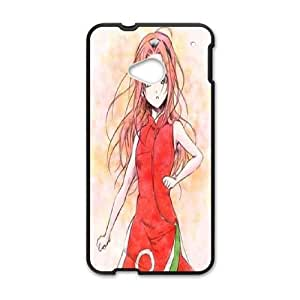 HTC One M7 phone case Black Spread the Sakura Love SYT9762104