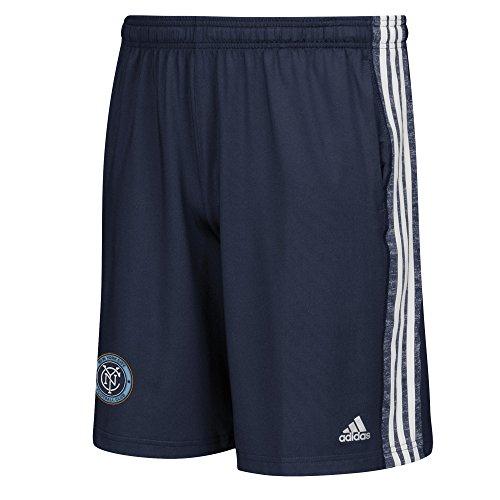 MLS New York City FC Men's Team Issue Shorts, Large, Navy