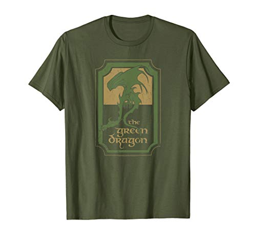 - Lord of the Rings Green Dragon Tavern T Shirt