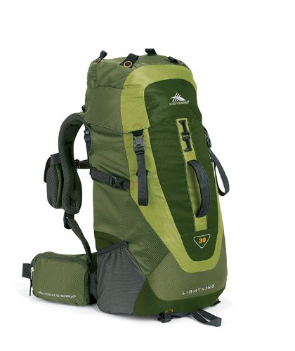 High Sierra Lightning 30 Frame Pack Amazon/Pine/Leaf', Outdoor Stuffs
