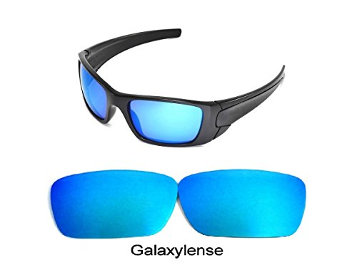 Galaxy Replacement lenses For Oakley Fuel Cell Polarized Blue 100% - Lens Fuel Oakley Cell
