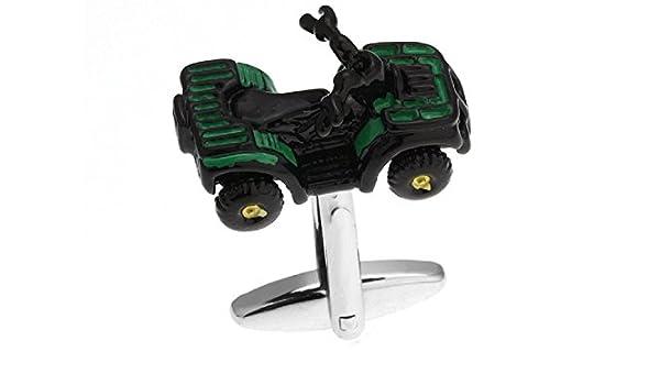 Para hombre cortacésped tractor Gemelos de Camisa con caja de regalo de presentación para boda Negocio: Amazon.es: Joyería