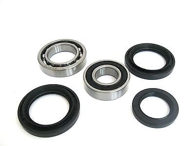 Rear Wheel Bearings Seals Kit Yamaha YFM400 Big Bear 4WD 2000-2006 (Big Tires Bear Yamaha)