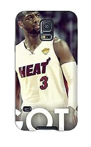 5823903K832547110 nba lebron james beat dwyane wade chris bosh miami heat NBA Sports & Colleges colorful Samsung Galaxy S5 cases