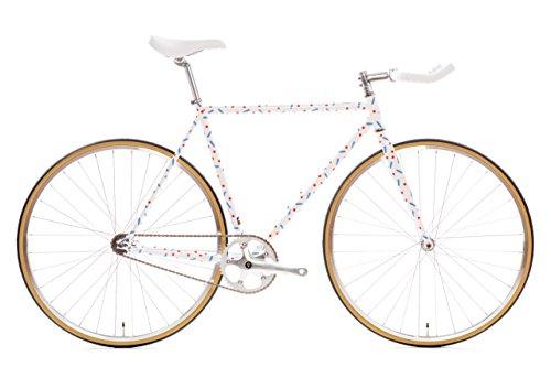 State Bicycle Pardi B - Fixed Gear/Single Speed Bike, 46cm - Bullhorn