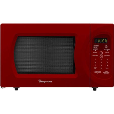 Magic Chef 0.9-Cubic Foot Microwave .Model:MCD992R /Color:Red