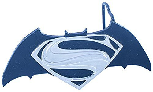 Unique Superman Batman combo Gun Metal Belt Buckle