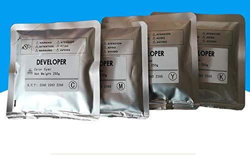 Printer Parts 4PC/Set New Compatible Color Developer for xerox C2260 C2263 C2265 Copier Iron Powder 250g/bag Copier consumables KCMY 4bags/lot