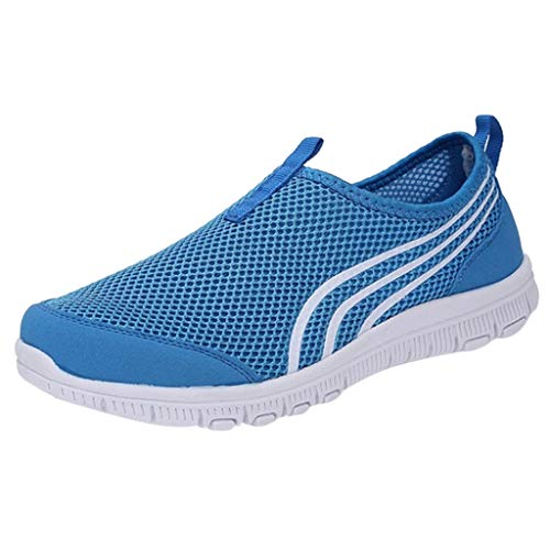 Sunhusing Women's Breathable Flat Bottom Casual Gauze Shoes Sneakers Running Shoes A Pedal Lazy Shoes ()