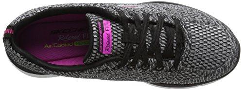 skechers VALERIS - Zapatillas de deporte para mujer SLBK