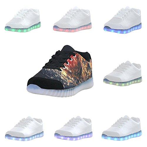 D-story Fantomatique Mains Espadrilles De Mode Allument Chaussures Pour Hommes Multicoloured31