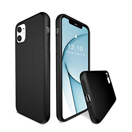 K Tomoto Liquid Silicone Case With Soft Microfiber Lining For iPhone 11 6.1 Inches (2019 Release)
