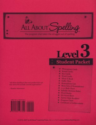 All About Spelling Level 3 (Additional Student Pack)