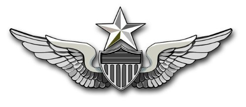 Vinyl USA US Army Senior Aviator Wing Decal Sticker 5.5