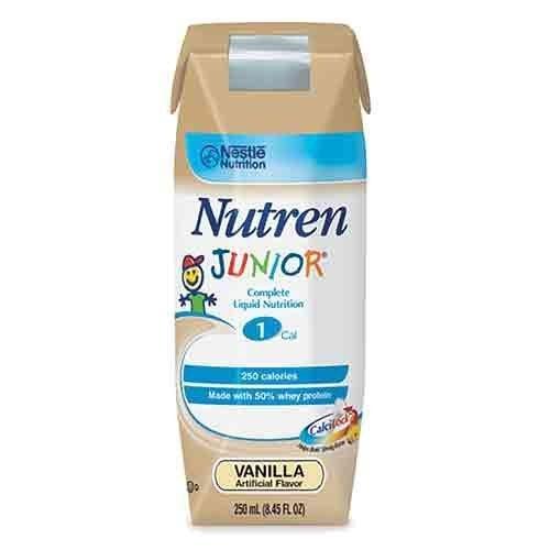 Nutren Junior , Nutren Jr Van Liq Nut-N 250 ml, (1 CASE, 24 EACH) by Nestle Nutritional by Nestle Nutritional