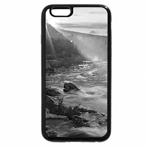 iPhone 6S Plus Case, iPhone 6 Plus Case (Black & White) - Sunrise