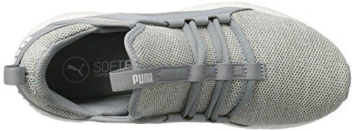 Outdoorschuhe Knit white Multisport Mega Puma 5 Womens Weiß UK Grey Grau Quarry 7 03 Nrgy HOqOXt