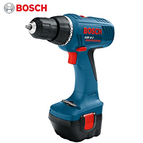Bosch Cordless Miter Saw (BOSCH 12V GSR12-2 Cordless Drill Driver Power Tool / 1 battery + accessory + Case + Charger ( 220V, 60Hz, Europe C type Plug ))