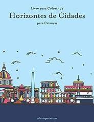 Livro para Colorir de Horizontes de Cidades para Crianças