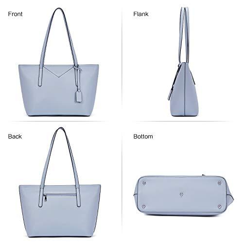 BROMEN Women Handbags Designer Leather Tote Purse Large Capacity Purses and Handbags Shoulder Bag 3