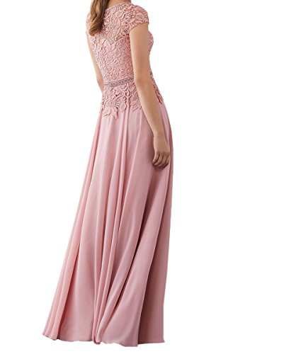 2018 Abendkleider Charmant Festlichkleider Langes Formalkleider Champagner Spitze Damen Brautmutterkleider Promkleider Neu Partykleider 4115AZwq
