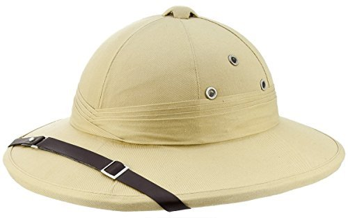 French Army Tropical Pith Helmet in British Khaki ()