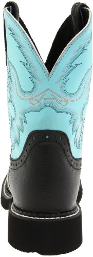 Justin Boots Women's Gypsy Collection Western Boot Black Deer Cow 7UPITPBSqh