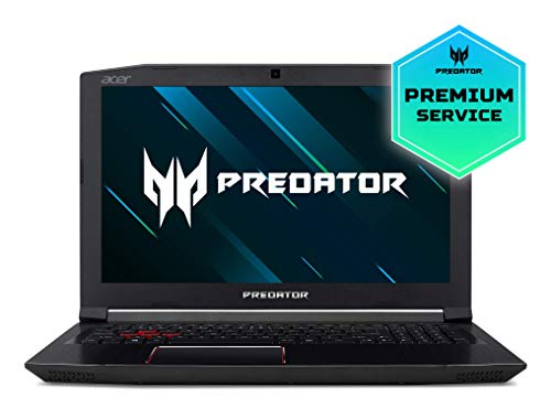 "Acer Predator Helios 300 PH315-51-53MZ - Ordenador portátil DE 15.6"" Full HD (Intel Core i5-8300H, 8 GB RAM, 1000 GB HDD, Nvidia GeForce GTX 1060, Windows 10) Negro - Teclado QWERTY Español 2"