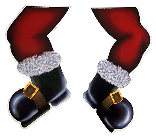 Mad Mags Hilarious Christmas Automobile Decoration (Santa Legs)