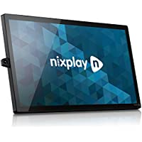 Nixplay Signage 32- simple, scalable and stunning digital signage, ready to use right out of the box. Remote content management, free software trial included.