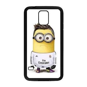 Cute Minion White samsung Galaxy S5 case