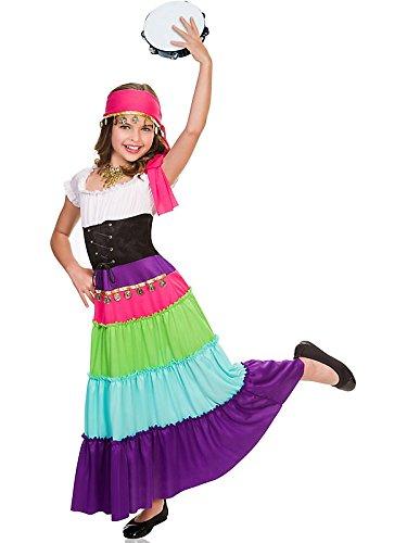 Baby Gypsy Costumes - Child Renaissance Gypsy Costume Large