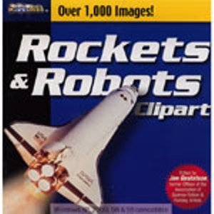 CD Titles Rockets And Robots Clipart Gallery Clip Art - Rocket Clipart