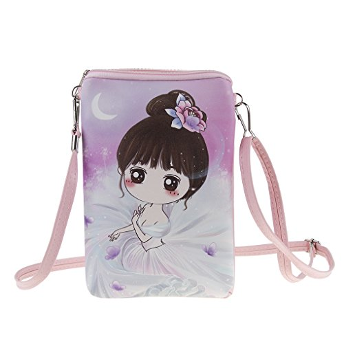 teens girls kids students cute cartoon pu