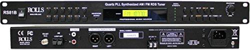 Rolls Quartz PLL Synthesized AM/FM Tuner (RS81B)