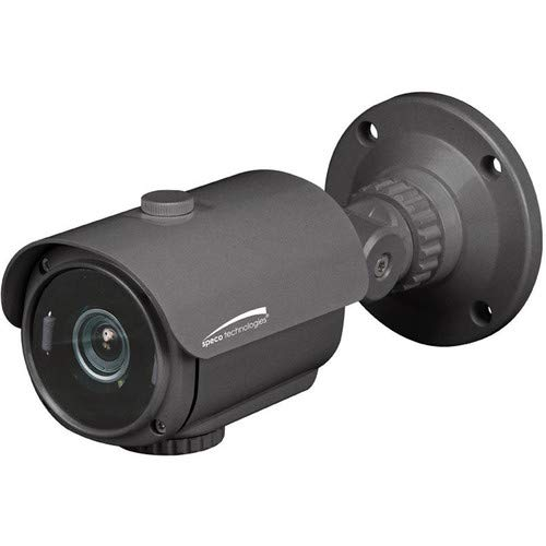 SPECO O2IB8M Intensifier IP 2MP Bullet Camera, 2.8-12 Lens, Grey HOUSING