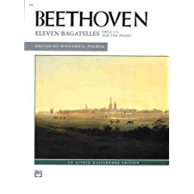 Beethoven -- Eleven Bagatelles, Op. 119 for the Piano (Alfred Masterwork Edition)