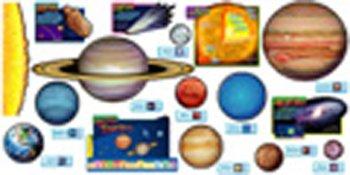 amazon com solar system bulletin board set solar system cutouts