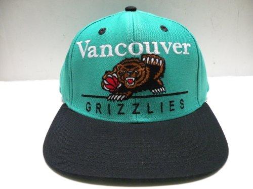 (NBA Vancouver Grizzlies Block Script Teal 2 Tone Snapback Cap Memphis)