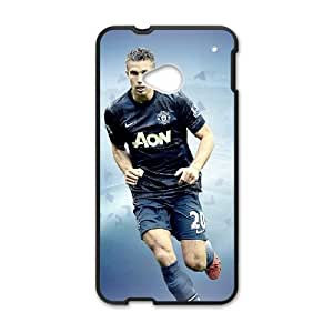 HTC One M7 Cell Phone Case Black Robin van Persie G6836080