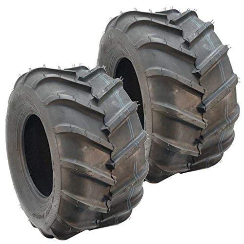 Set Of 2 OTR 22 MAG 22x11x10 4 ply Bar Tread Tire Replaces Grasshopper 482483 (Giant Grasshopper)