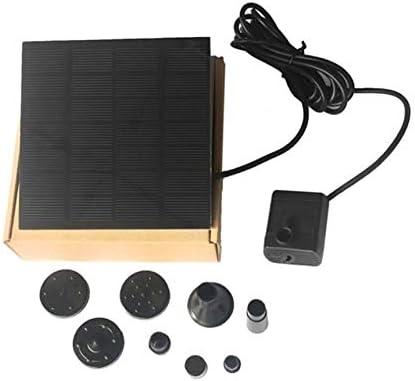 Moda Forma Cuadrada Panel Solar Bomba de Agua Kit Fuente Piscina Jardín Estanque Regadera Sumergible Juego de Tanque de baño para Aves: Amazon.es: Jardín