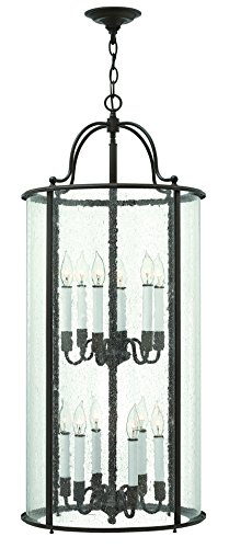 Hinkley 3479OB Traditional 12 Light Foyer from Gentry collection in - Pendant Foyer Gentry