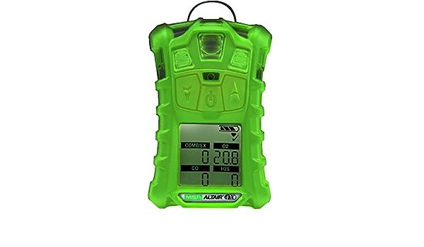 MSA ALTAIR Phosphorescent 4X Portable Multigas Detector: Science Lab Gas Handling Instruments: Amazon.com: Industrial & Scientific