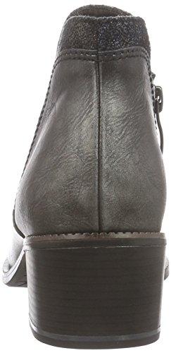 Gris Chelsea Femme 283 Courtes graphite 25092 Doublure Froide Comb Grau Bottes Tamaris qPtg0xYnYE