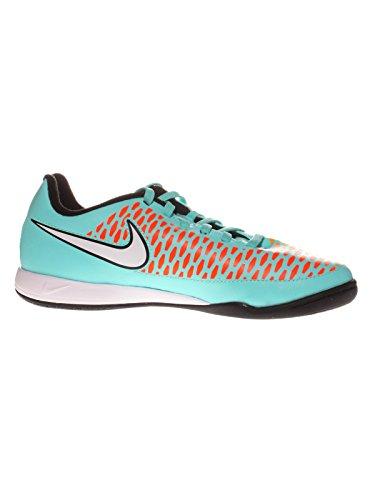 Nike Jr Magista Onda IC Kinder Hallen Fussballschuhe hyper turquoise-white-orange-crimson - 38